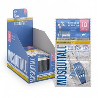 Москитол нежная защита пластины от комаров 10 шт.