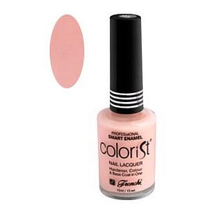 Френчи колорист лак-укрепитель для ногтей тон-105 розовый фарфор 15мл