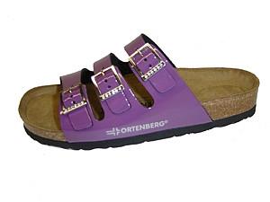 Ортманн марсель обувь ортопедическая женская 7.04.2 размер 40 фиалковый со стразами