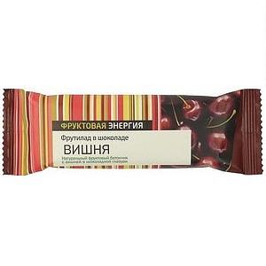 Фрутилад батончик вишня в шоколаде 55г