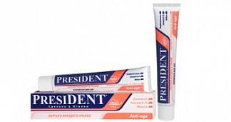 Президент анти-эйдж зубная паста энергия и молодость улыбки 50мл