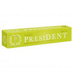 Президент юник зубная паста уникальная защита без фтора 50мл