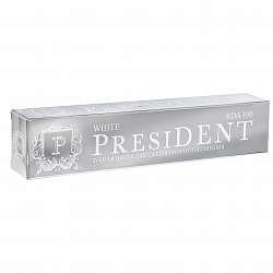 Президент уайт зубная паста ежедневное отбеливание 50мл