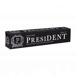 Президент реноме зубная паста здоровая белизна и свежесть 75мл