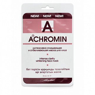 Ахромин маска для лица интенсивное очищение/отбеливание 30мл