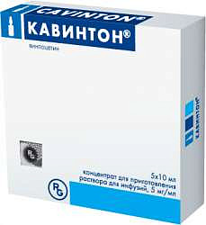 Лекарственный препарат кавинтон