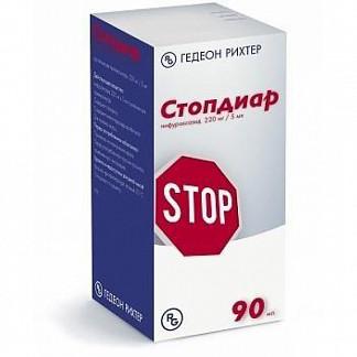 Стопдиар 220мг/5мл 90мл суспензия д/приема внутрь