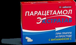 Парацетамол экстратаб 500мг/150мг n10 таб.
