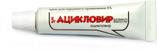 Ацикловир белупо 5% 5г крем, фото №1