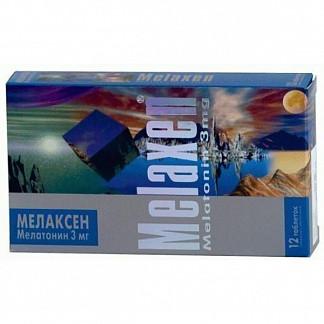 Мелаксен 3мг 12 шт. таблетки