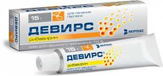 Девирс 7,5% 15г крем для наружного применения