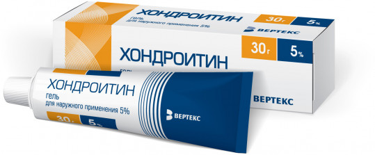 Хондроитин 5% 30г гель, фото №1