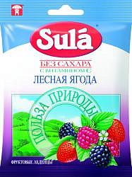 Зула леденцы лесная ягода 60г пакет