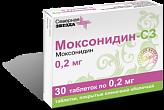 Моксонидин-сз 0,2мг n30 таб. покрытые пленочной оболочкой