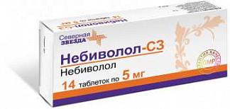 Небиволол-сз 5мг 14 шт. таблетки