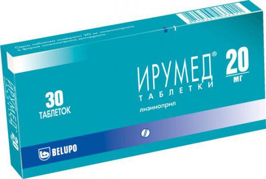 Ирумед 20мг 30 шт. таблетки, фото №1