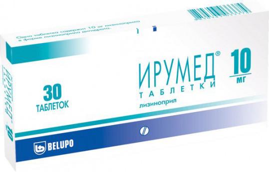 Ирумед 10мг 30 шт. таблетки, фото №1