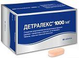 Детралекс 1000мг 60 шт. таблетки покрытые пленочной оболочкой