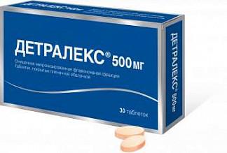 Детралекс описание препарата