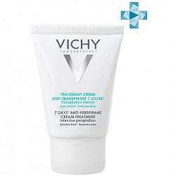 Виши дезодорант-крем 7дней регулирующий избыточное потоотделение 30мл