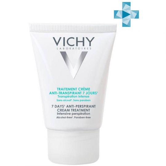 Виши дезодорант-крем 7дней регулирующий избыточное потоотделение 30мл, фото №1