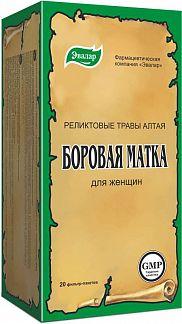 БОРОВАЯ МАТКА чай 20 шт. фильтр-пакет Эвалар