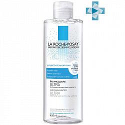 Ля рош позе ультра сенситив вода мицеллярная для очищения чувствительной кожи лица/глаз 400мл