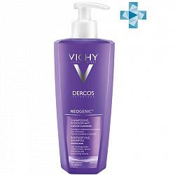 Виши деркос неоженик шампунь для повышения густоты волос 400мл