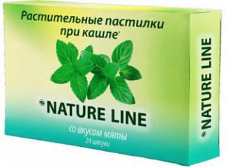 Натурлайн леденцы с растительными экстрактами мята 24 шт.