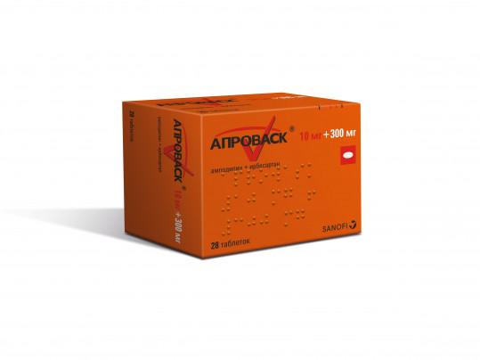 Апроваск 10мг+300мг 28 шт. таблетки покрытые пленочной оболочкой, фото №1