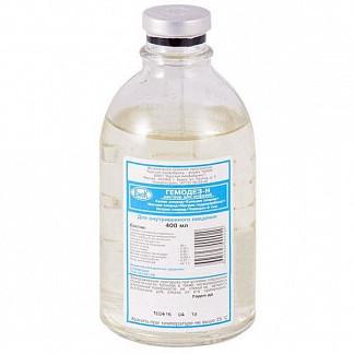 Гемодез н 400мл 1 шт. раствор для инфузий