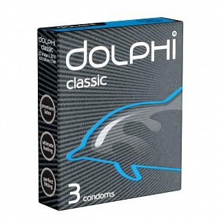 Долфи презервативы латексные классические с силиконовой смазкой 3 шт.