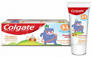 Колгейт зубная паста детская нежная мята 3-5 лет 60мл