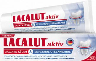 Лакалют актив зубная паста защита десен/бережное отбеливание 50мл