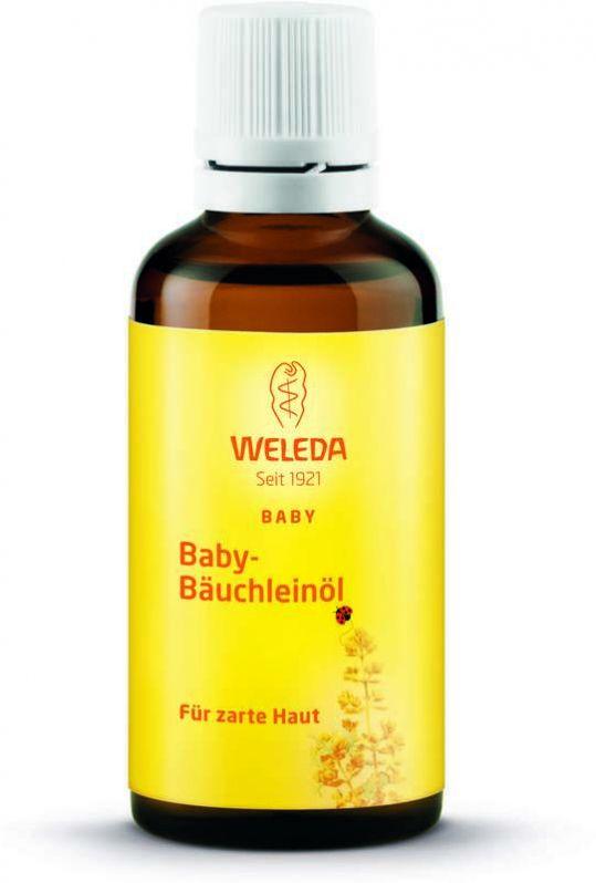 Веледа масло для младенцев для массажа животика (9508) 50мл, фото №1