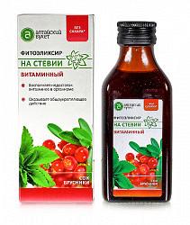 Фитоэликсир на стевии витаминный 100мл