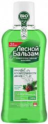 Лесной бальзам ополаскиватель для полости рта кора дуба/пихта 400мл