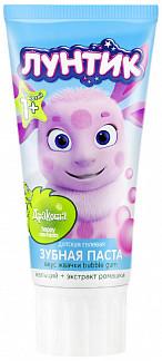 Дракоша зубная паста для детей гелевая баббл гам 60г