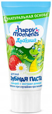Дракоша зубная паста для детей гелевая клубника 60г, фото №1
