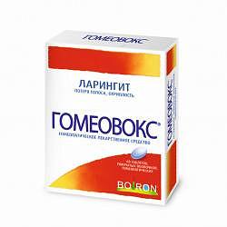 Гомеовокс 60 шт. таблетки для рассасывания