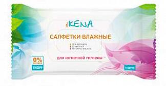 Икена салфетки влажные для интимной гигиены с молочной кислотой 15 шт.