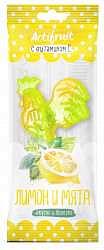 Петушок карамель леденцовая с витамином с лимон/мята 17г