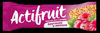 Текмар мюсли брусника-малина б/сах 30г