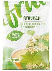 Виталор карамель леденцовая липа/мед + витамин с 60г