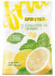 Виталор карамель леденцовая лимон/мята + витамин с 60г