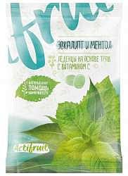 Виталор карамель леденцовая эвкалипт/ментол + витамин с 60г