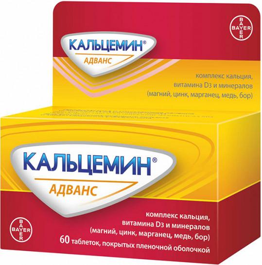 Кальцемин адванс 60 шт. таблетки, фото №1