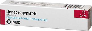 Целестодерм-в 0,1% 15г крем для наружного применения