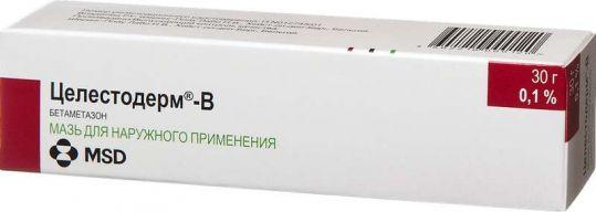 Целестодерм-в 0,1% 30г мазь для наружного применения, фото №1