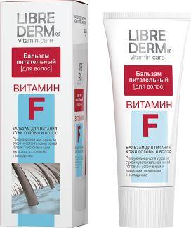 Либридерм витамин f бальзам питательный д/кожи головы и волос 200мл
